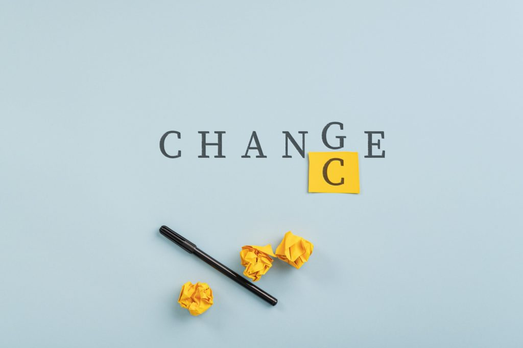 Conceptual image of challenge and mindset
